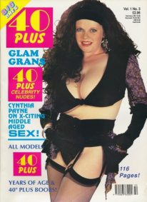 Front cover of 40 Plus Vol 1 No 3 magazine