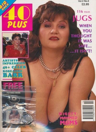 Front cover of 40 Plus Vol 2 No 6 magazine