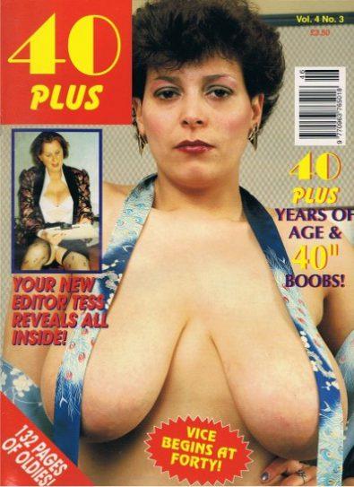 Front cover of 40 Plus Volume 4 No 3 magazine