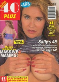 Front cover of 40 Plus Vol 4 No 9 magazine