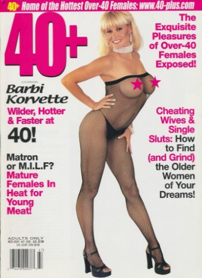 Front cover of 40+ Issue 47 magazine