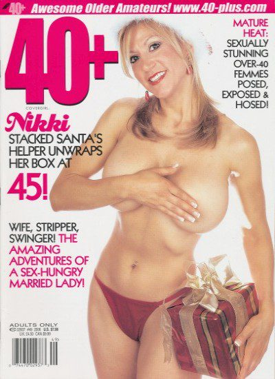Front cover of 40+ Issue 49 magazine
