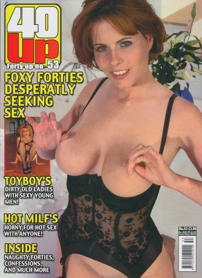 Front cover of 40 Up Number 53 magazine