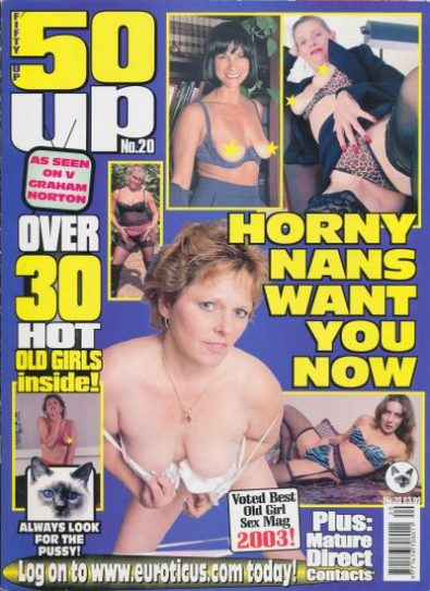 Front cover of 50 Up Number 20 magazine