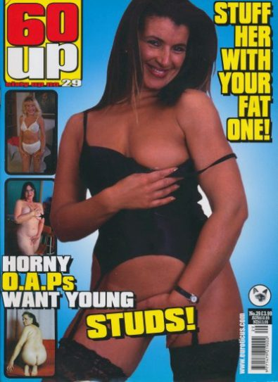Front cover of 60 Up Number 29 magazine