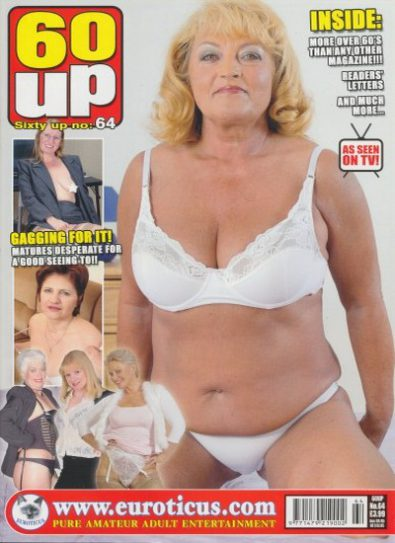 Front cover of 60 Up Number 64 magazine