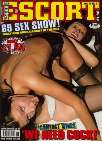 Front cover of Escort Volume 19 No 6 magazine