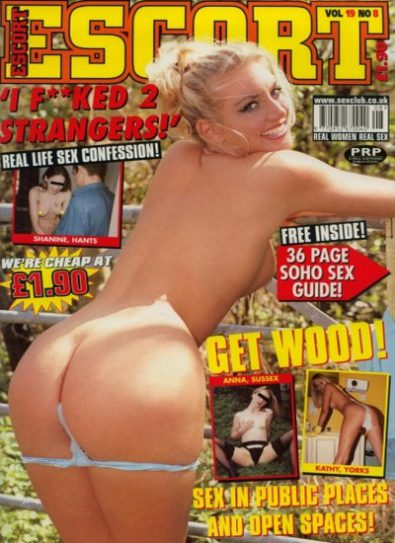 Front cover of Escort Volume 19 No 8 magazine