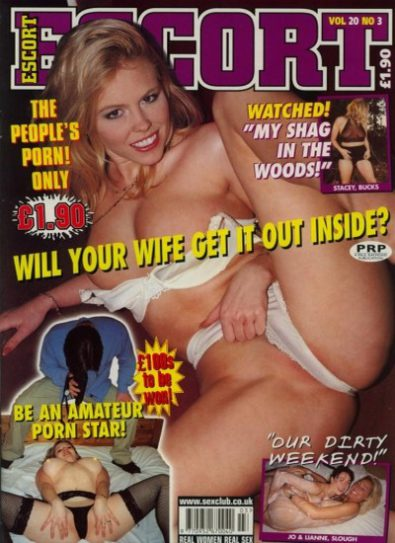 Front cover of Escort Volume 20 No 3 magazine