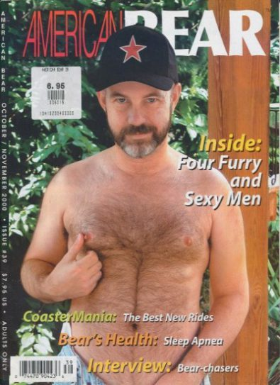 Front cover of American Bear Issue 39 magazine