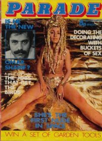 Front cover of Parade April 1st 1972 magazine