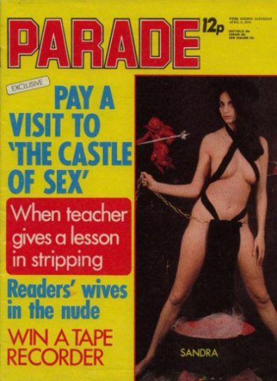 Front cover of Parade April 6th 1974 magazine