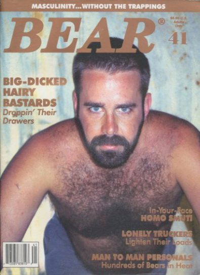 Front cover of Bear Issue 41 magazine