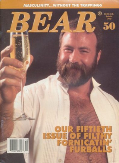 Front cover of Bear Issue 50 magazine