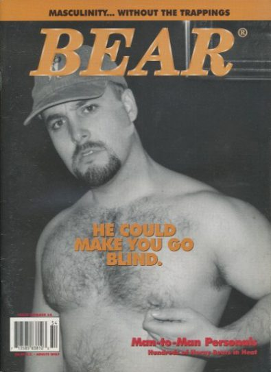 Front cover of Bear Issue 54 magazine