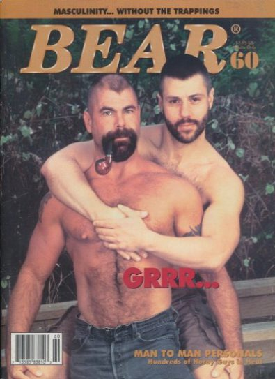 Front cover of Bear Issue 60 magazine