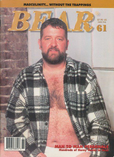 Front cover of Bear Issue 61 magazine