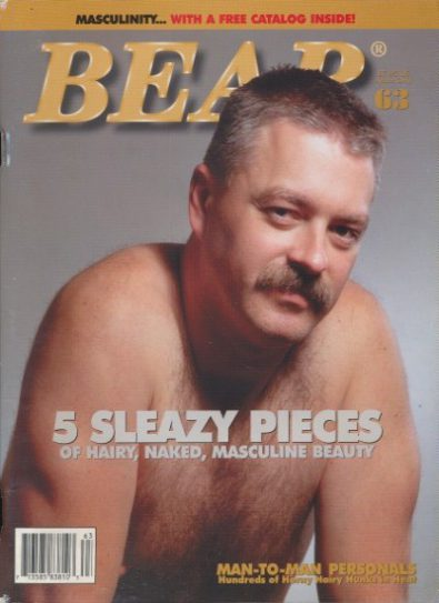 Front cover of Bear Issue 63 magazine