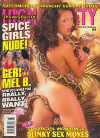 Front cover of Best of High Society May 1998 magazine