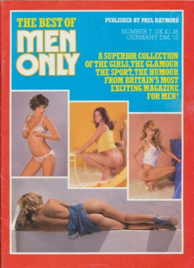 Front cover of Best of Men Only No 7 magazine