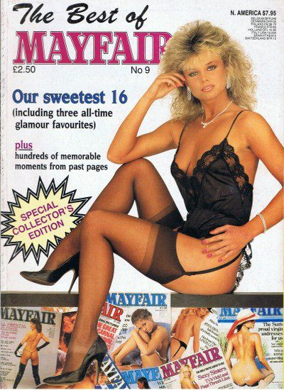 Front cover of Best of Mayfair No 9 magazine