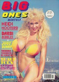 Front cover of Big Ones Volume 1 No 11 magazine