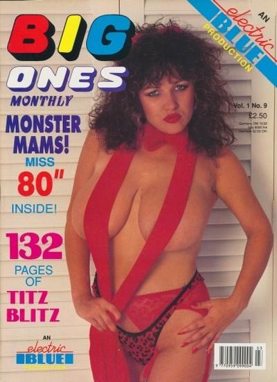 Front cover of Big Ones International Vol 1 No 9 magazine