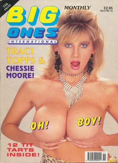 Front cover of Big Ones International Vol 2 No 12 magazine