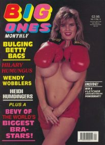 Front cover of Big Ones International Vol 2 No 4 magazine