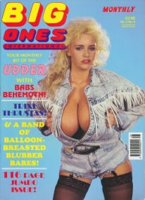 Front cover of Big Ones International Vol 2 No 8 magazine