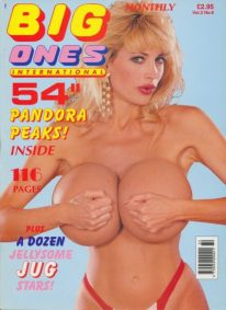 Front cover of Big Ones International Vol 3 No 6 magazine