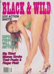 Front cover of Black & Wild Vol 2 No 3 magazine