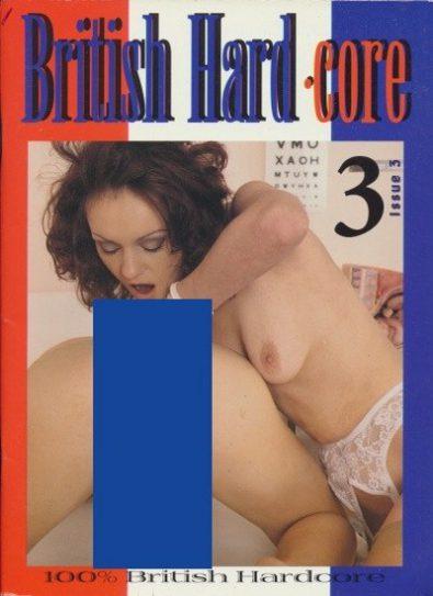 Front cover of British Hardcore 3 magazine