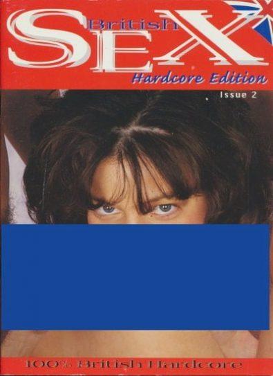 Front cover of British Sex Hardcore Edition 2 magazine