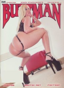 Front cover of Buttman Volume 8 No 3 magazine