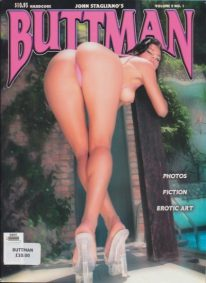 Front cover of Buttman Volume 9 No 1 magazine
