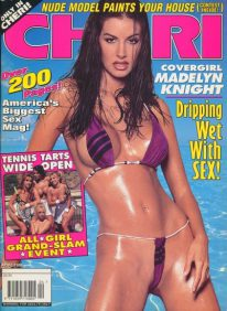 Front cover of Cheri April 1996 magazine
