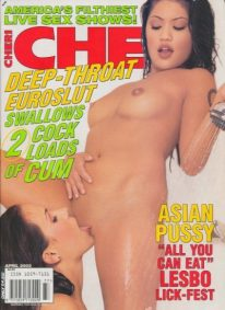 Front cover of Cheri April 2002 magazine