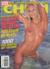 Front cover of Cheri March 1999 magazine