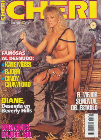 Front cover of Cheri No 99 (Spanish) magazine