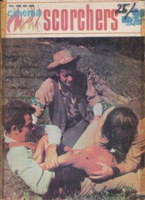 Front cover of Cinema Scorchers Volume 1 No 1 magazine