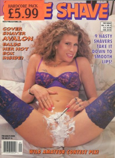 Front cover of Close Shave Volume 4 Number 9 magazine