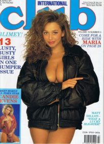 Front cover of Club International Volume 19 Number 3 magazine