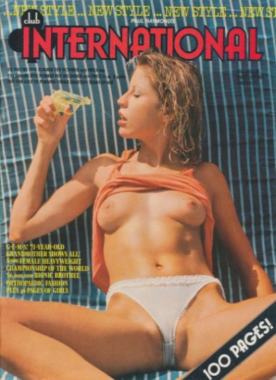 Front cover of Club International Volume 05 Number 10 magazine