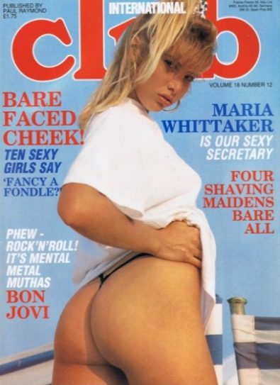 Front cover of Club International Volume 18 No 12 magazine