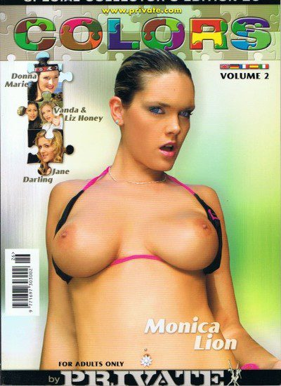 Front cover of Private Colors Vol 2 magazine