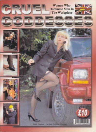 Front cover of Cruel Goddesses magazine