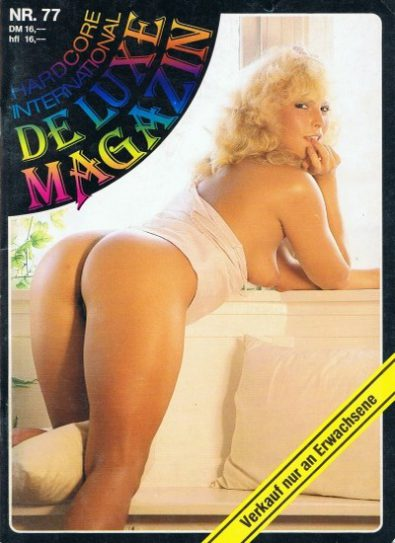 Front cover of Deluxe Magazin No 77 magazine