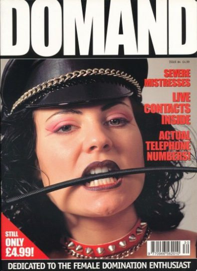Front cover of Domand No 4 magazine