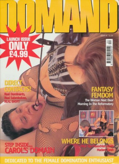 Front cover of Domand No 1 magazine